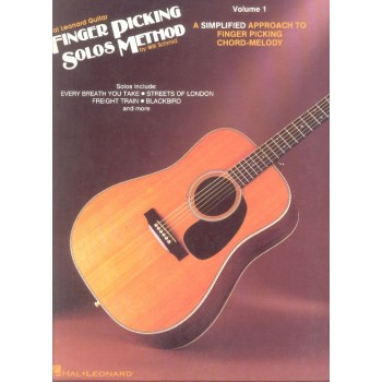 Buy Hal Leonard Guitar Fingerpicking Solos Method 1 Book Online in ...