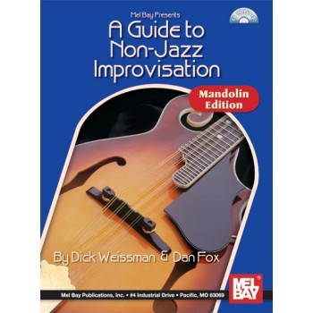Buy Guide To Nonjazz Improvisation A Mandolin Cd Book Online