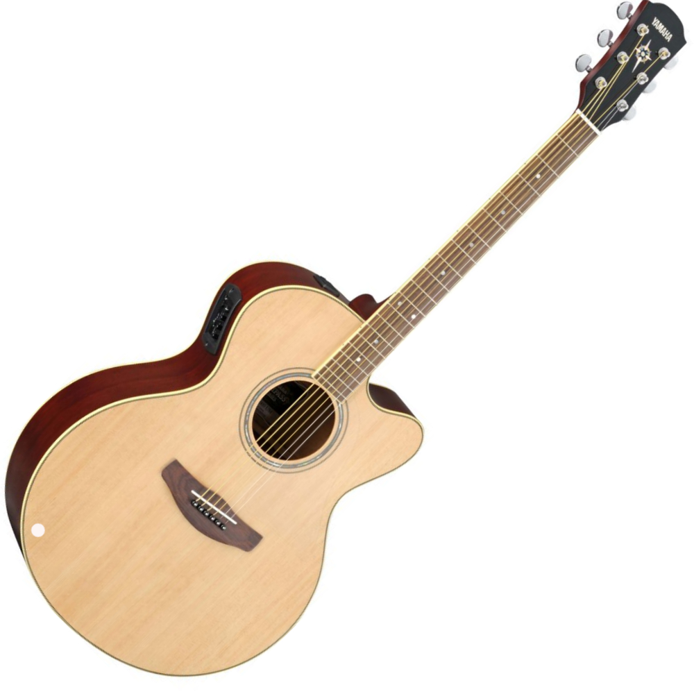 Buy yamaha acoustic electric guitar cpx500ii natural for Yamaha rs guitar