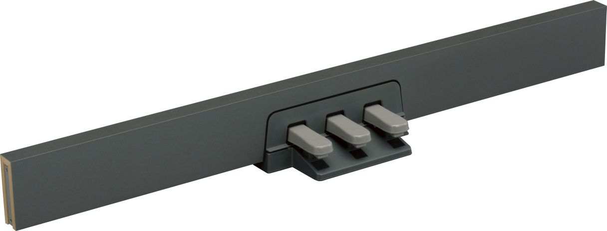Buy yamaha lp5a 3 pedals unit online in india at best for Yamaha piano pedal unit